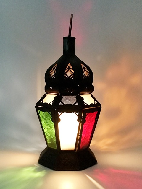 Alladins Lamp: mixed colour