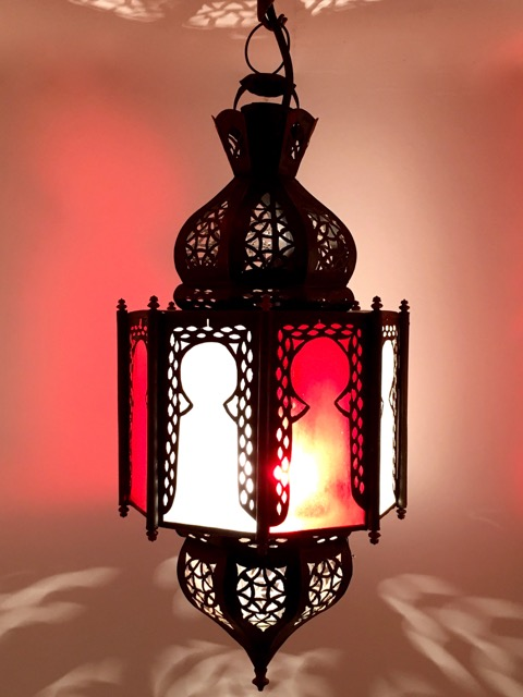 Arabian Lantern: red