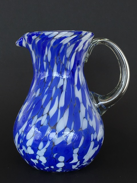 Blue Splash Jug
