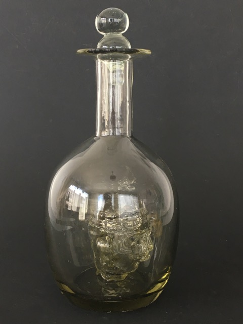Aztec Head Bottle