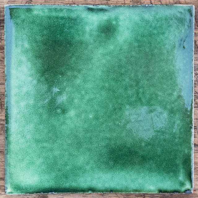 Solid Green Tile
