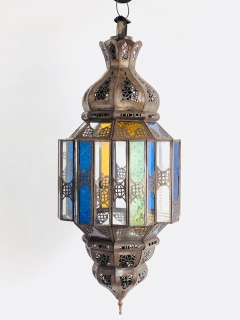 Layla Lantern Clear Amp Colour Furniture Lighting Decor