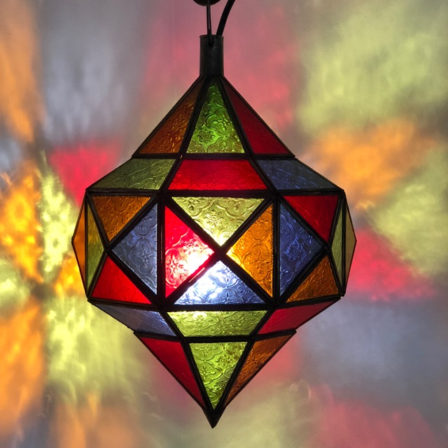 Berber Lantern Colourful