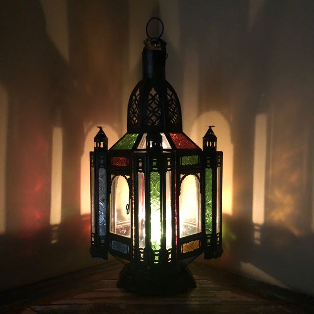 Gypsy Lamp Coloured Medium