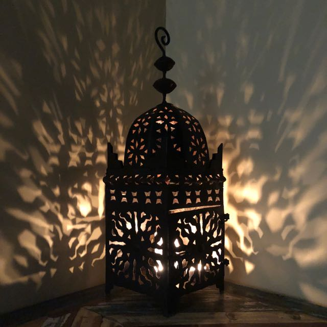 Traditional Moroccan Lamp Medium