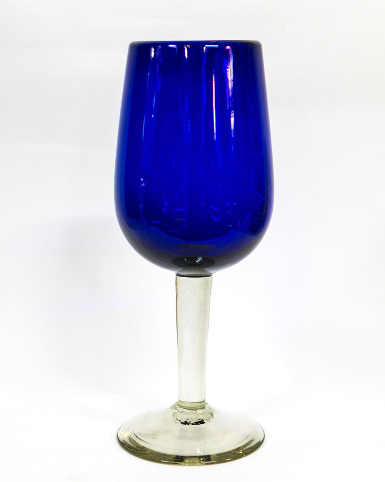 Indigo Wine Glass