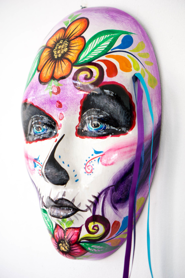 Day of the Dead Sugar Skull Pink