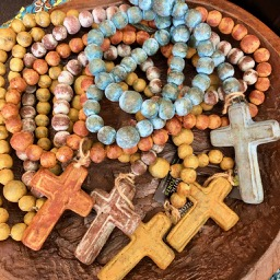 Medium Mexican Rosary Beads