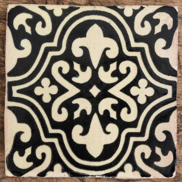 Talu Black & Cream Tile