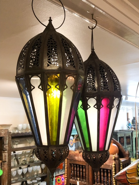 Asmaa Lantern Coloured