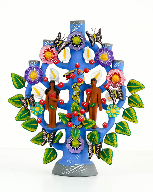 Mexican Tree of Life Blue