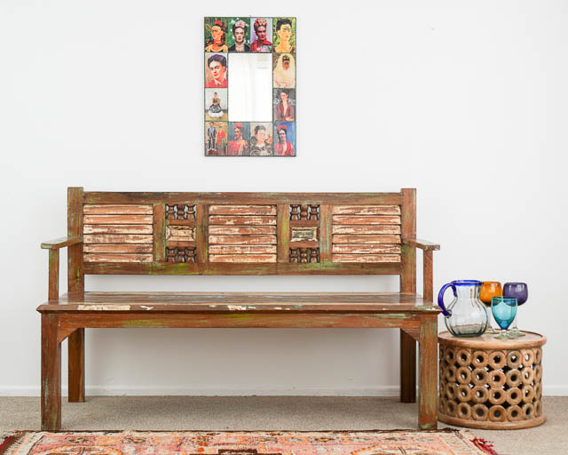 Rustic Bench Seat BACK ORDER