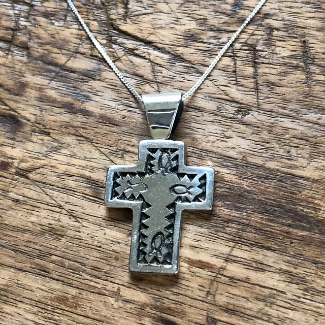 Mexican Cross Necklace