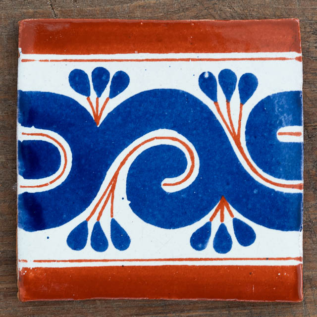 Gousano Tile Tan & Blue
