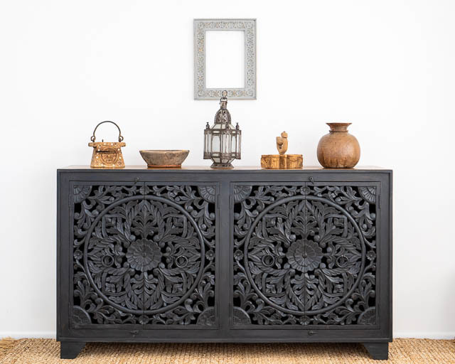 Celestia Sideboard Large Charcoal PRE ORDER