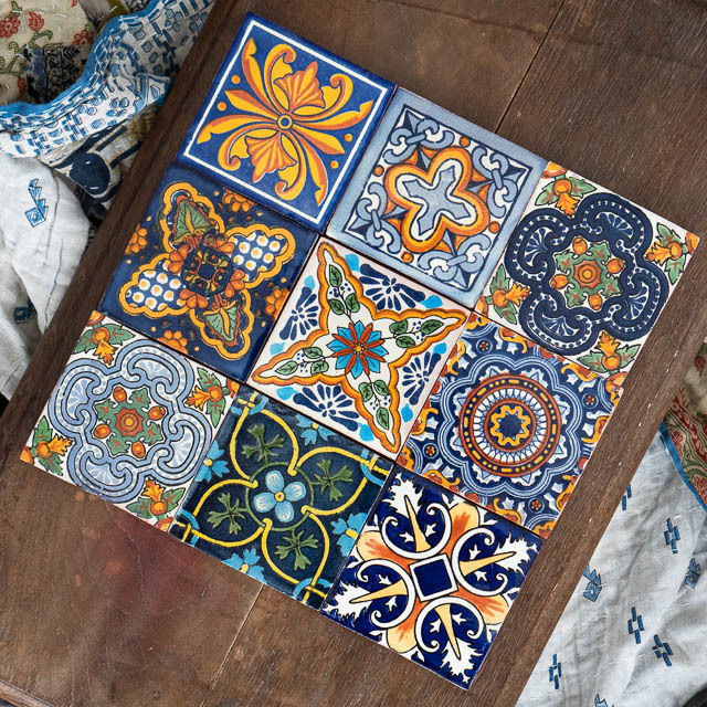 9 Pack Mexican Tiles Summer Pack
