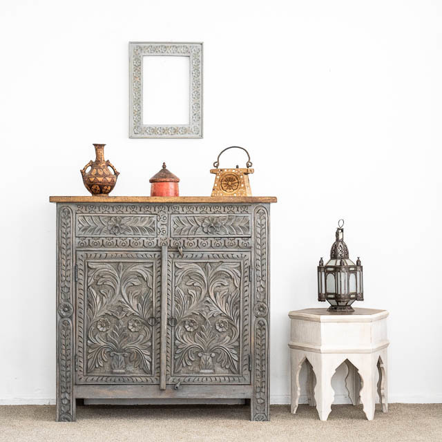 Bohemian Sideboard Medium Grey