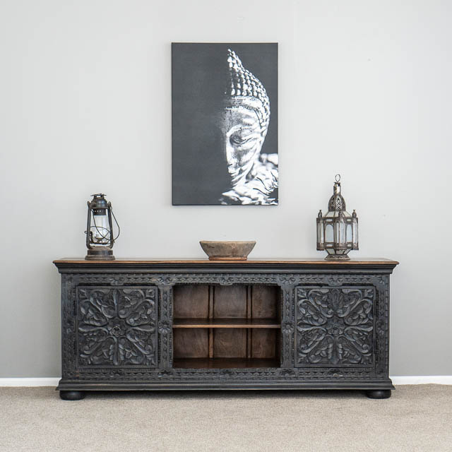 Aura TV Cabinet or Sideboard Charcoal
