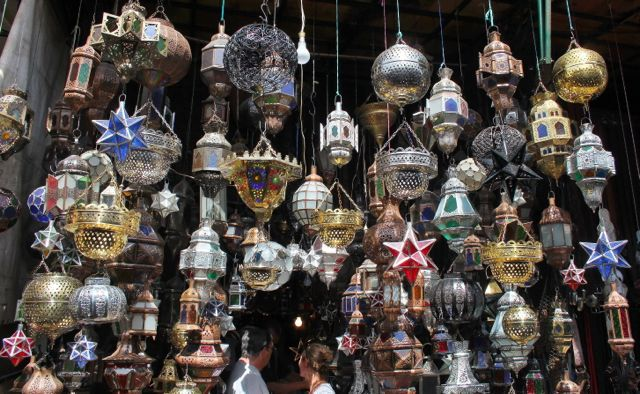 But my ceiling is too low for Moroccan lanterns. Think again!